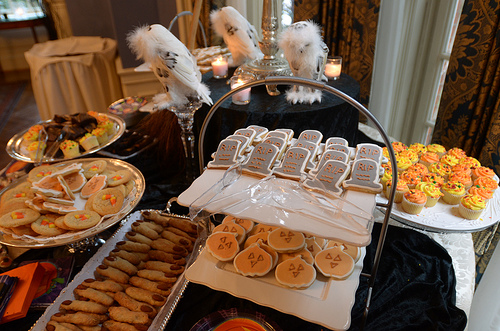 halloween buffet photo