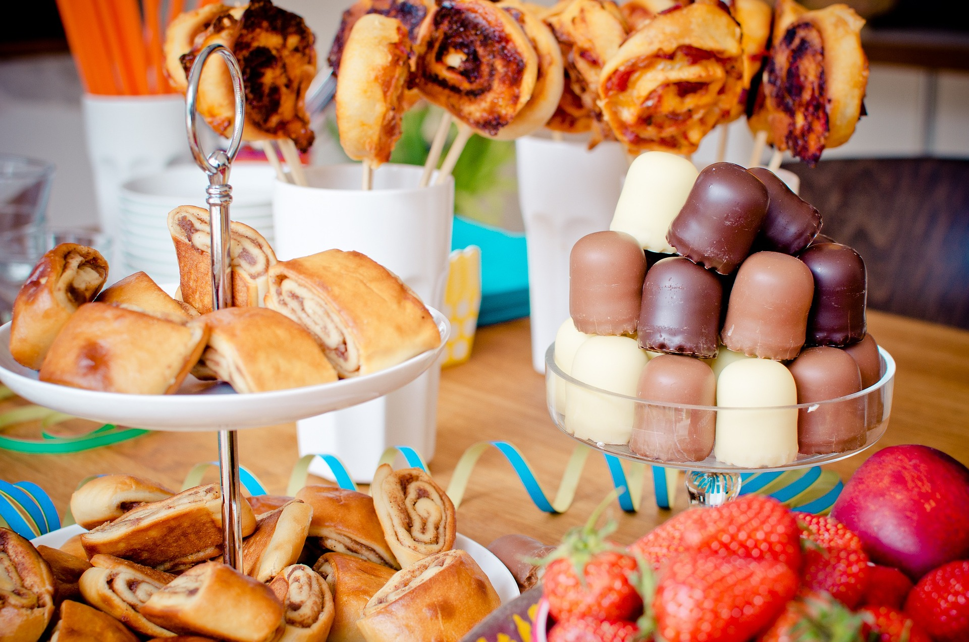 buffet gourmand pour la fête des écoles